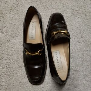 2/$49***Bandolino leather brown loafers